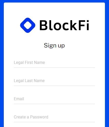 blockfi registrering