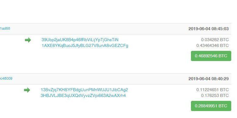 hva er bitcoin transaksjoner