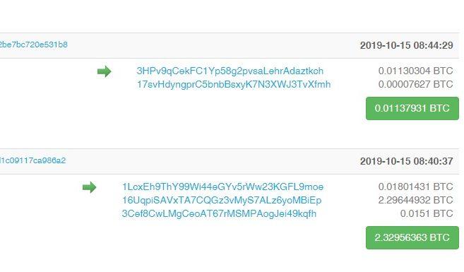 bitcoin-transaksjoner