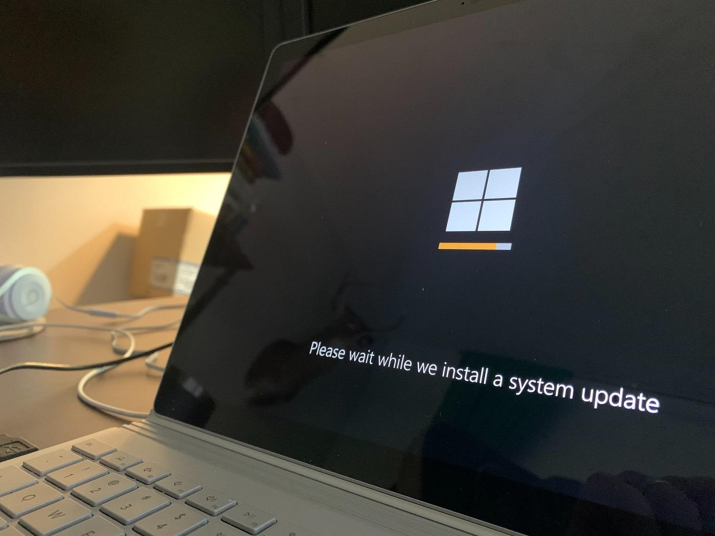 windows oppdatering