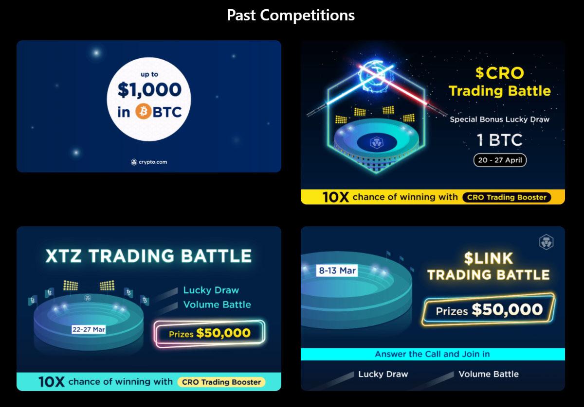 crypto.com competitions