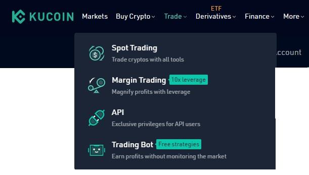 kucoin trade