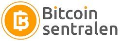 bitcoinsentralen logo